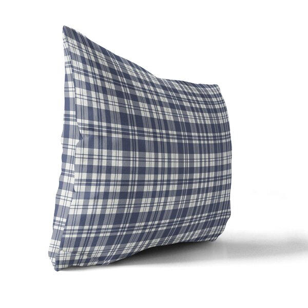 Avaline Plaid Indoor/Outdoor Lumbar Pillow