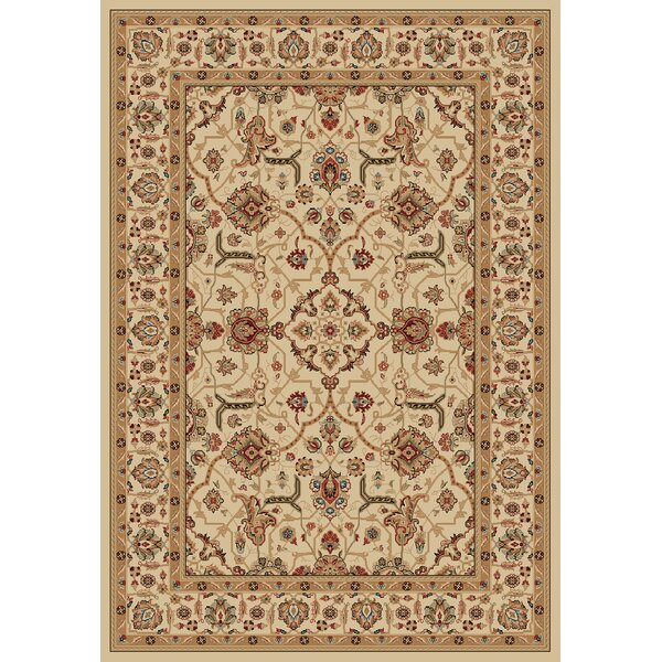 Majesty Creme/Creme Area Rug by Safavieh