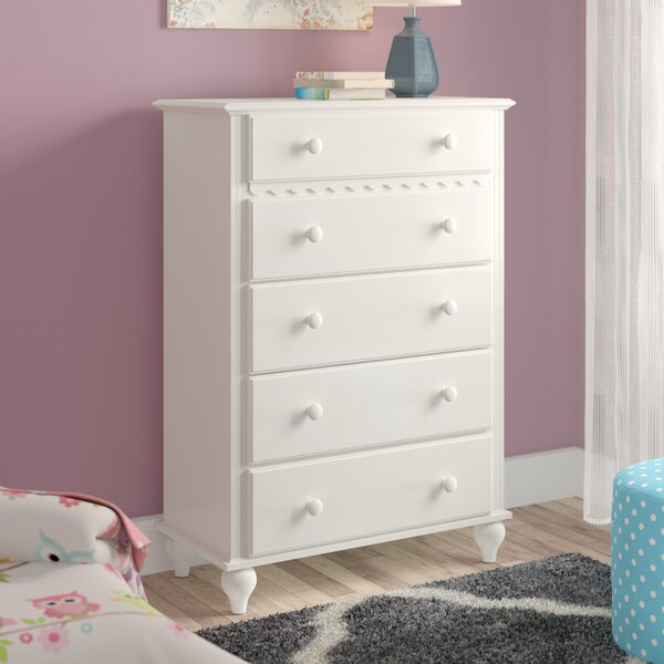 Portia 5 Drawer Chest by Viv + Rae