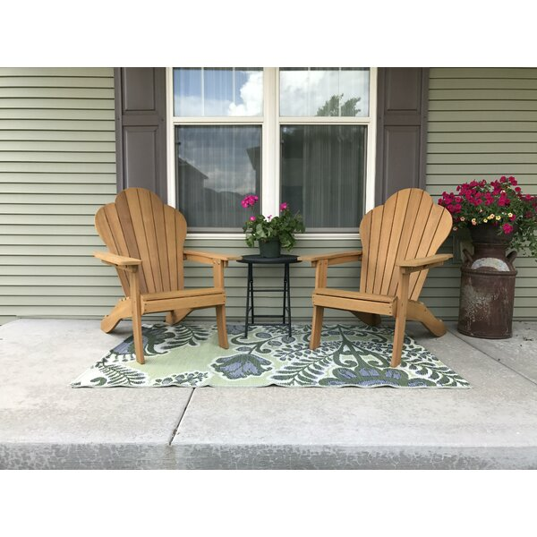 Mobley Wood Adirondack Chair by August Grove