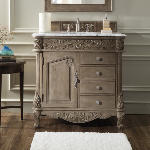 Paddington 36 Single Bathroom Vanity Set by Astoria Grand