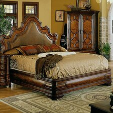 Palladio California King Upholstered Panel Bed by Eastern Legends