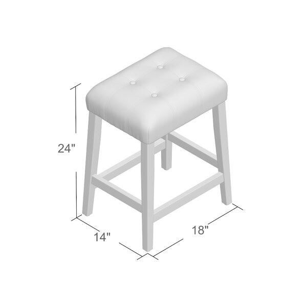 Perot 24 Bar Stool by Andover Mills