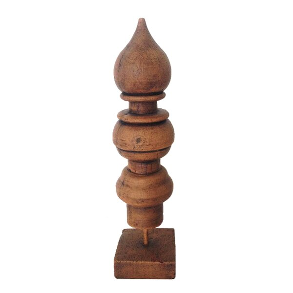 Small Finial Sculpture by Jeco Inc.