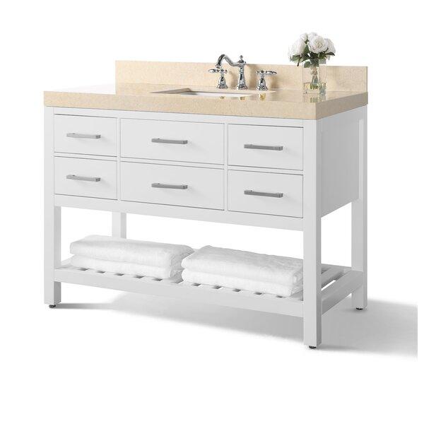 Galala Beige Jauss 48 Single Bathroom Vanity Set