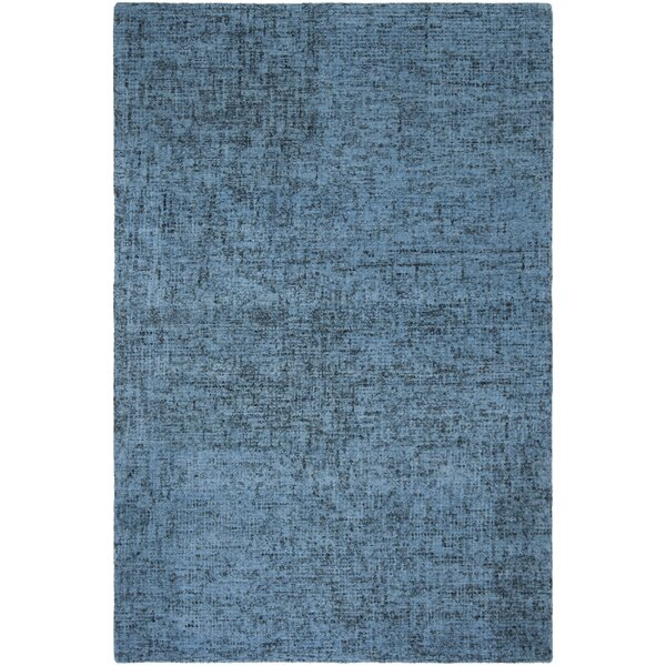 Diara Hand-Tufted Wool Blue Area Rug by Gracie Oaks