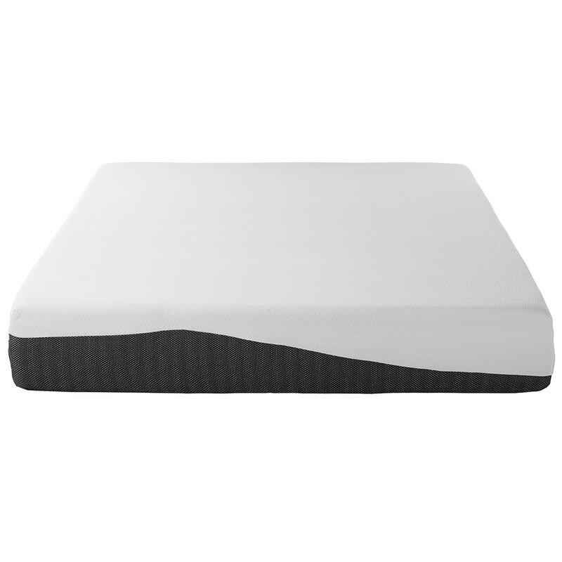 "Alwyn Home Daphne 10"" Plush Gel Memory Foam Mattress & Reviews"