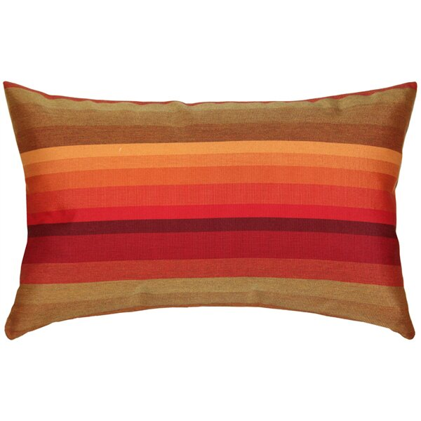 Cheryton Sunset Outdoor Sunbrella Lumbar Pillow by Red Barrel Studio