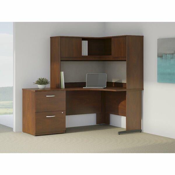 Series C Elite 3 Piece L-Shape Desk Office Suite by Bush Business Furniture
