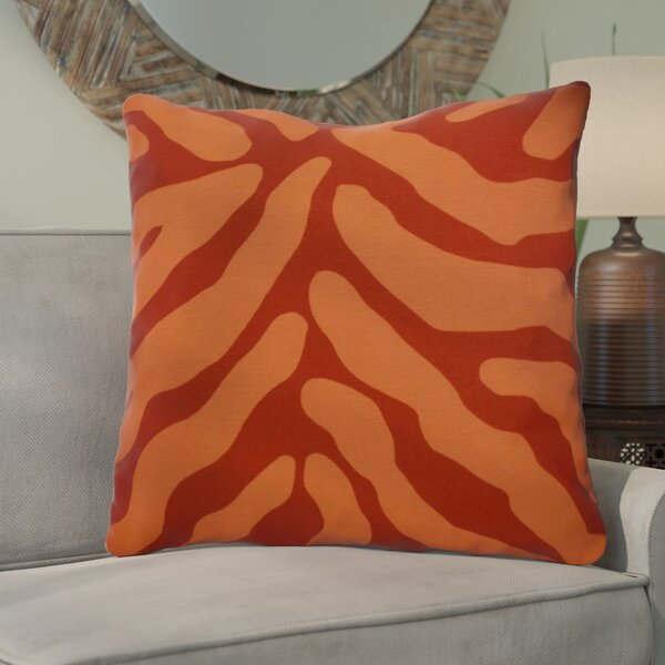 Kam Animal Striped Geometric Euro Pillow by Bloomsbury Market
