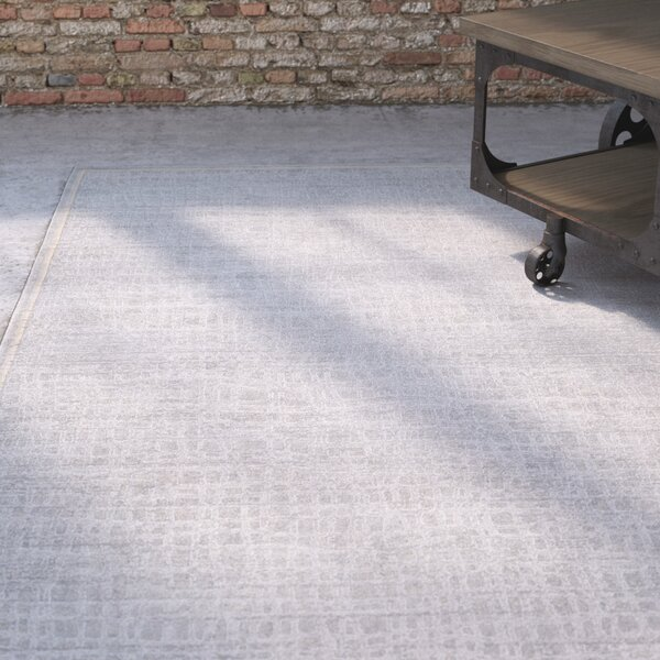 Kala Light Gray/Cream Area Rug by Williston Forge