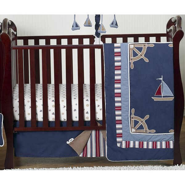 4 Piece Crib Bedding Set by Sweet Jojo Designs