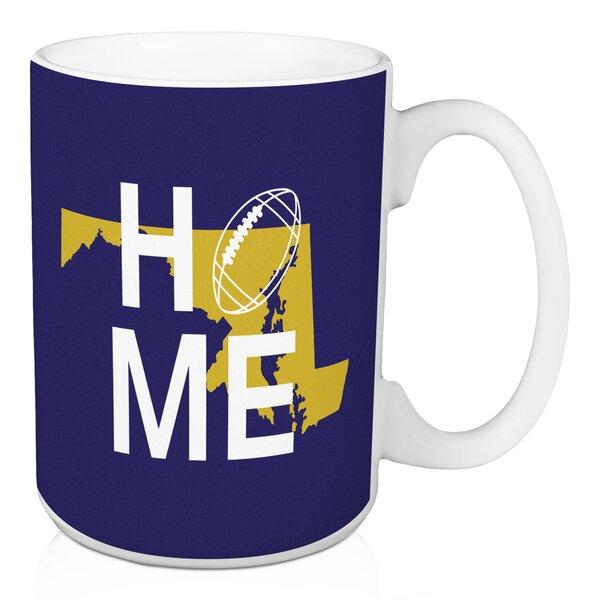 Forshee Baltimore Home Football Coffee Mug by Ebern Designs