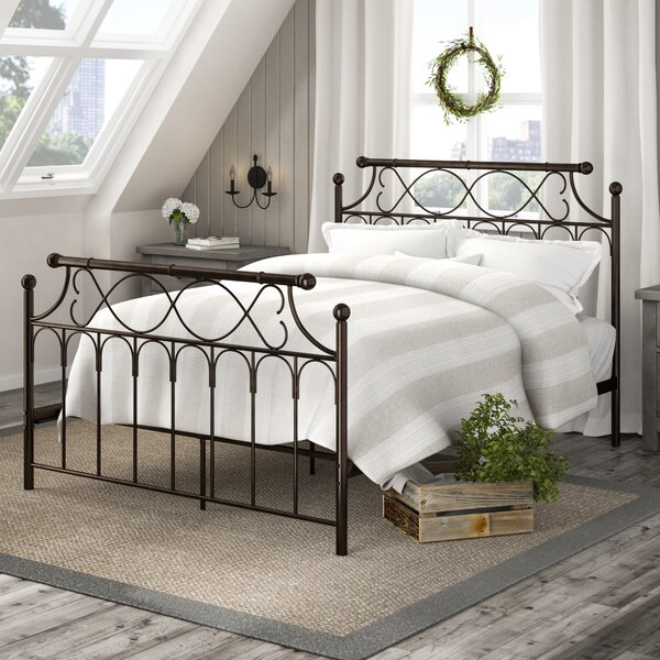 Gerri Metal Queen Standard Bed by Laurel Foundry Modern Farmhouse