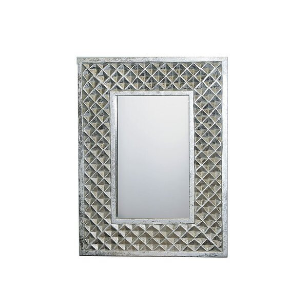 Pursel MDF Carved Accent Mirror by Brayden Studio