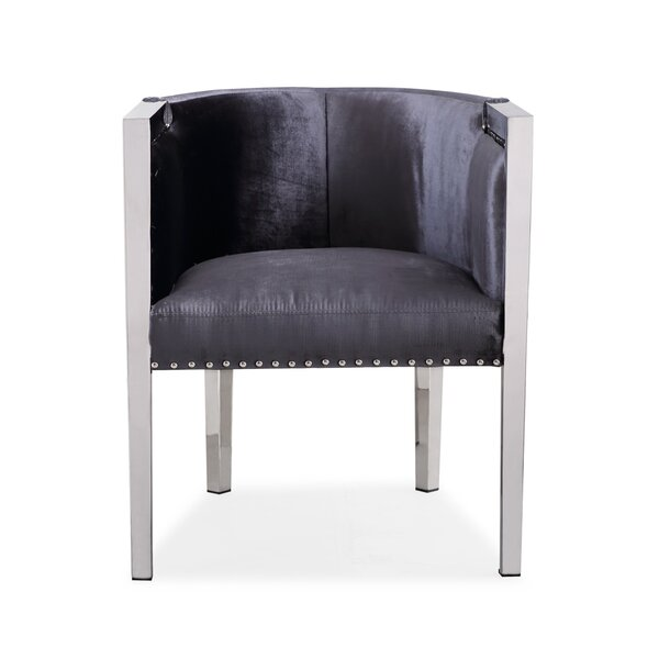 Britley Barrel Chair by Mercer41 Mercer41