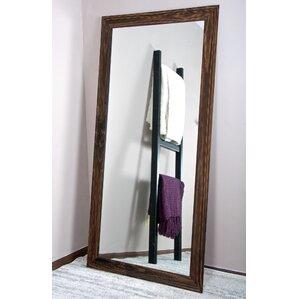 urban wood tall vanity wall mirror