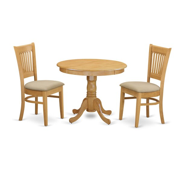 3 Piece Dining Set By Wooden Importers Modern