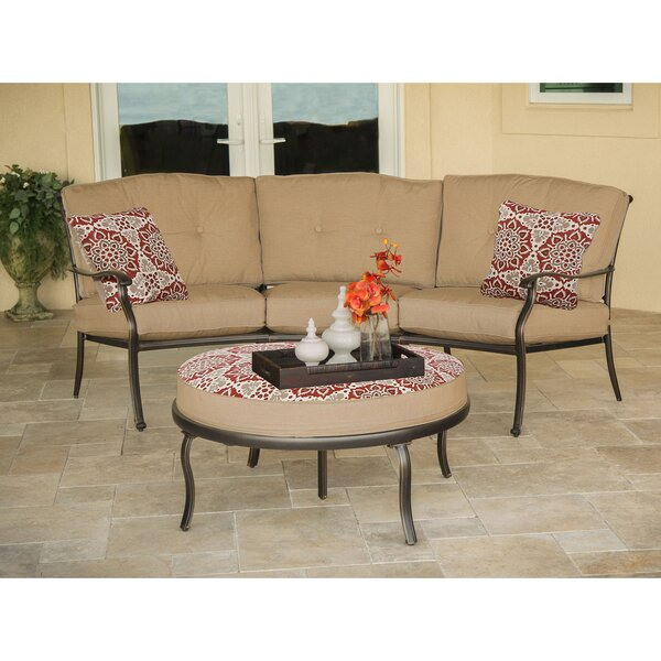 Lauritsen 2 Piece Sofa Set with Cushions by Three Posts