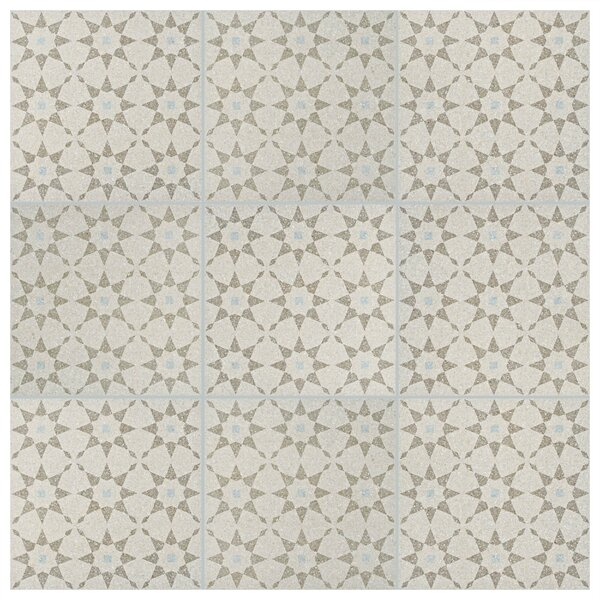 Parma Aventino 11.5 x 11.5 Porcelain Field Tile in Crema by EliteTile