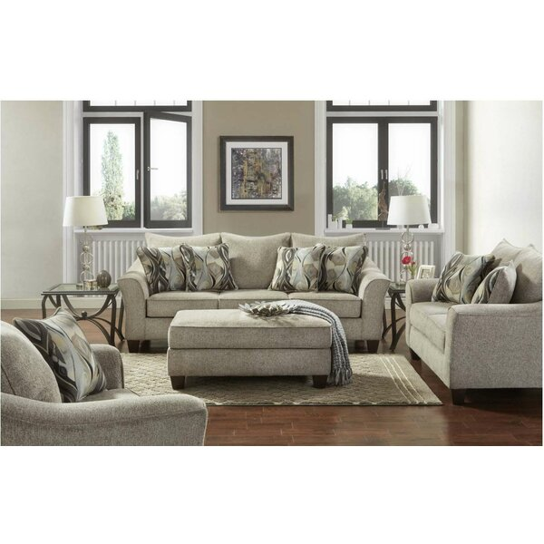 Hartsock 3 Piece Living Room Set by Alcott Hill