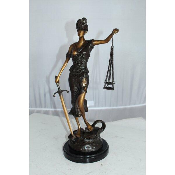 Lady Justice Statue Wayfair