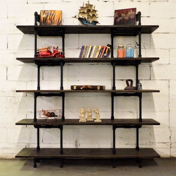 Ragnar Etagere Bookcase by 17 Stories 17 Stories