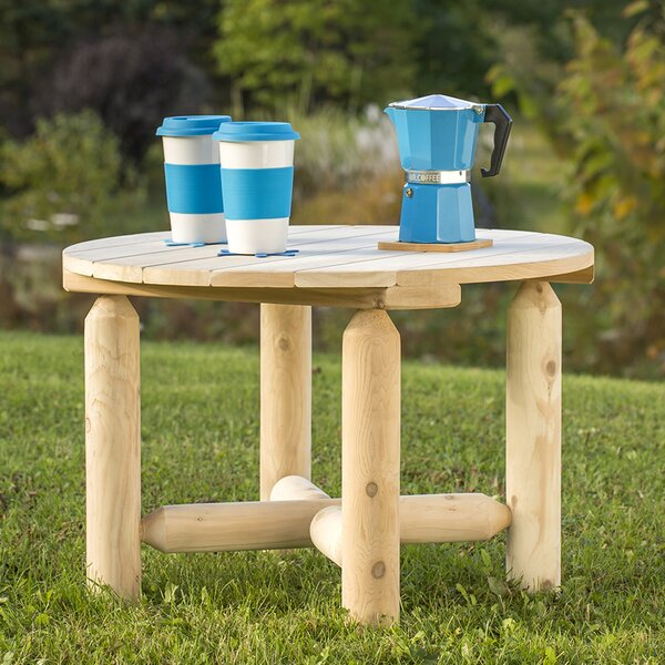 Hooper Round Coffee Table by Loon Peak