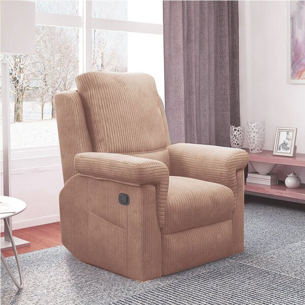 Proctovile Recliner Home Theater Individual Seating Red Barrel Studio W000649106