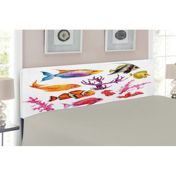Ocean Upholstered Panel Headboard By East Urban Home