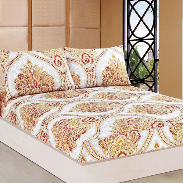 Sunshine Festival Polyester Fitted Set by Tache Home Fashion