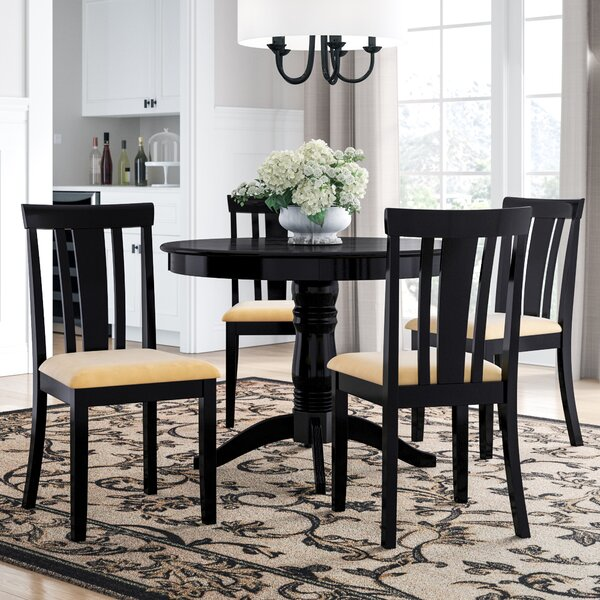 Oneill Modern 5 Piece Wood Dining Set by Andover Mills