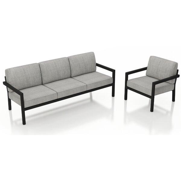 Iliana 2 Piece Sofa With Sunbrella Cushions By 17 Stories