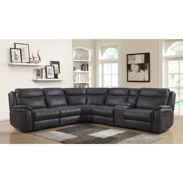 #2 Rishel Reclining Sectional By Latitude Run 2019 Sale