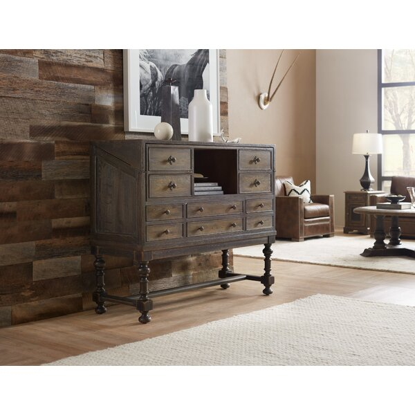 Hill Country Boerne Ranch Managers Credenza Desk by Hooker Furniture