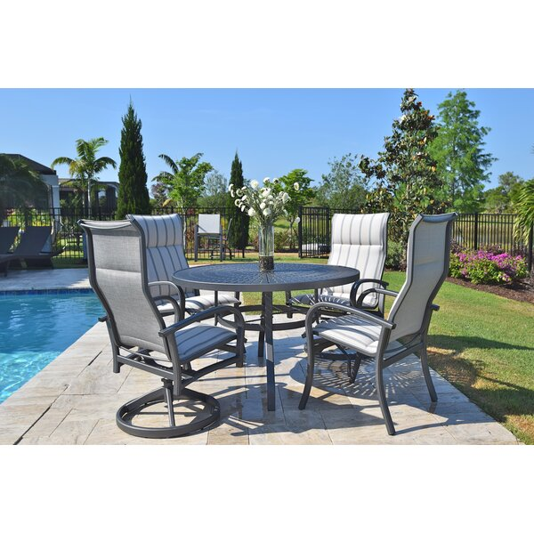 Terrabay 5 Piece Dining Set by Outdoor Masterpiece