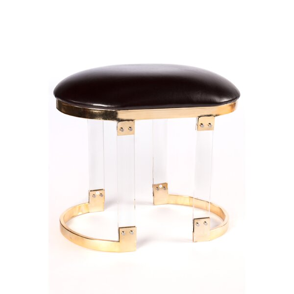 Luna Acrylic Stool by Statements by J