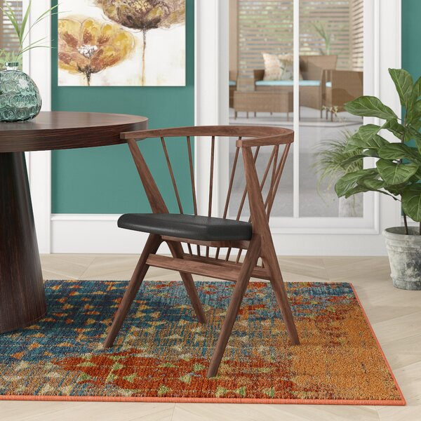 Chip Solid Wood Dining Chair By Ivy Bronx Ivy Bronx