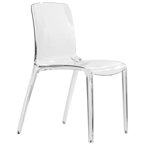 Maryln Stacking Dining Chair by Orren Ellis