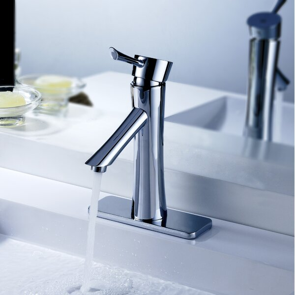 Sage Standard Lever Bathroom Faucet with Drain Ass