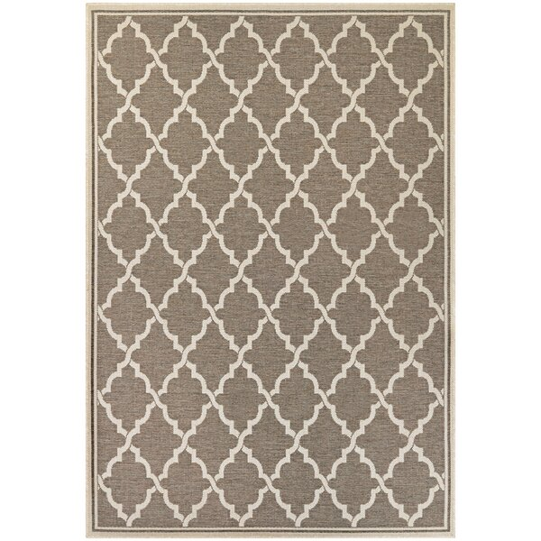Cardwell Brown Indoor/Outdoor Area Rug by Charlton Home