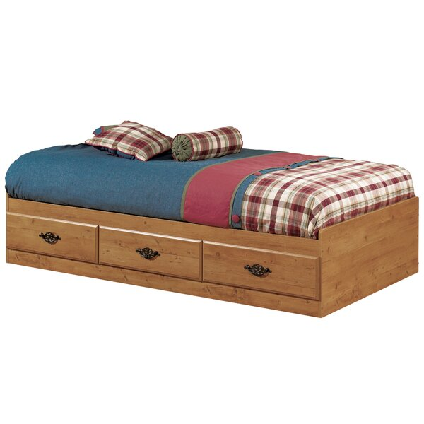 Prairie Twin Mate's & Captain's Bed with Drawers by South Shore