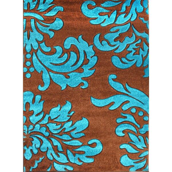 Morven Blue/Brown Area Rug by Latitude Run