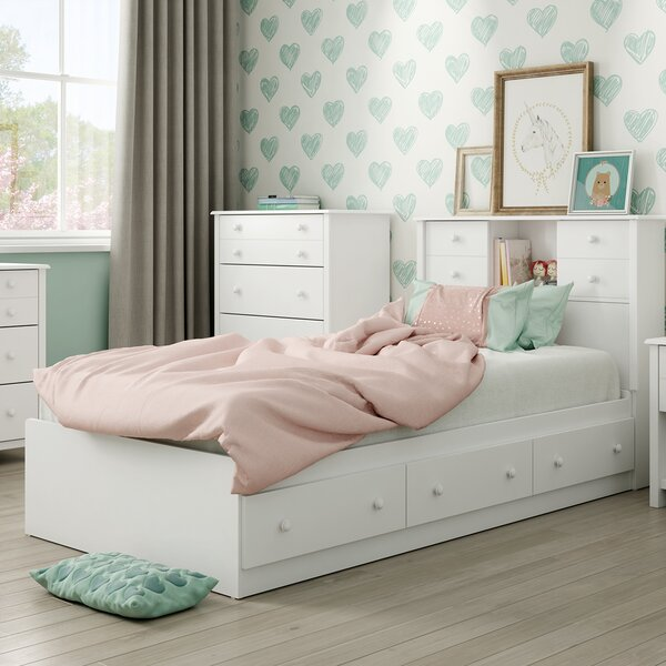 Little Smileys Twin Mates & Captains Bed With Drawers By South Shore by South Shore Wonderful