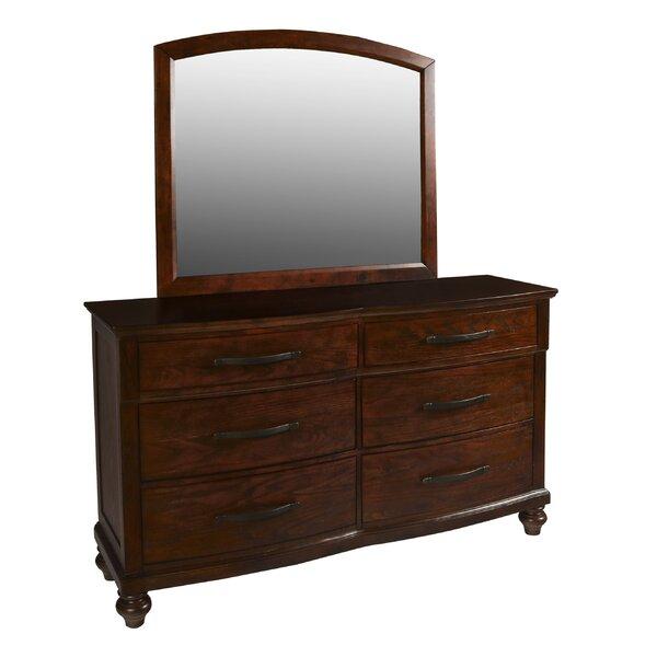 Semaj 6 Drawer Double Dresser by Alcott Hill
