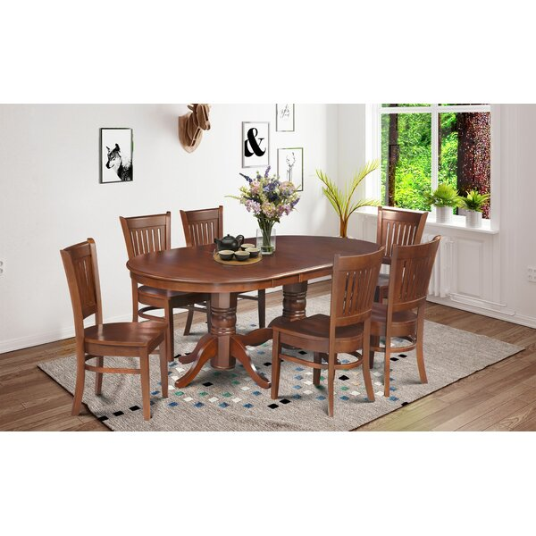 Crigler 7 Piece Dining Set by Breakwater Bay