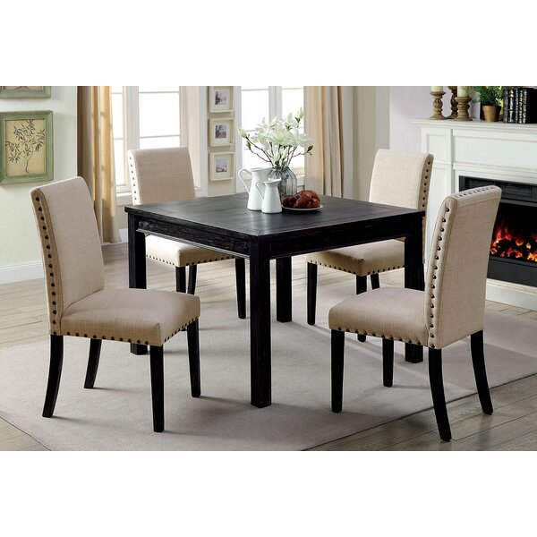 Harms Wooden 5 Piece Counter Height Dining Table Set by Red Barrel Studio
