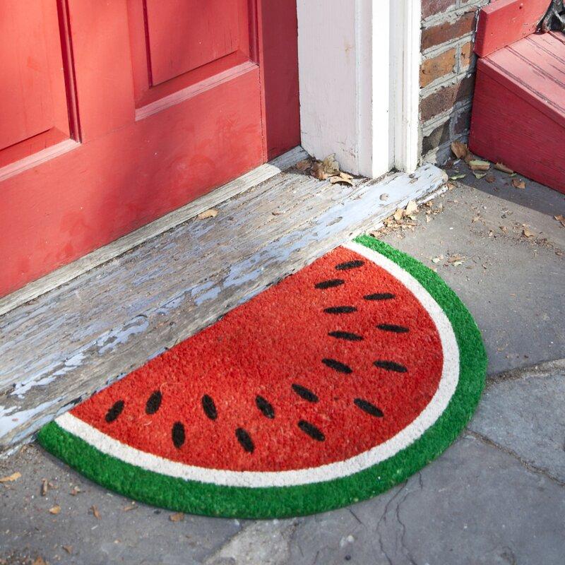 Entryways Sweet Home Watermelon Doormat amp Reviews Wayfair
