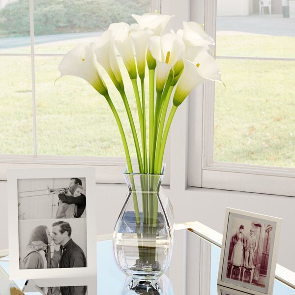 Silk Calla Lily in Vase by Willa Arlo Interiors