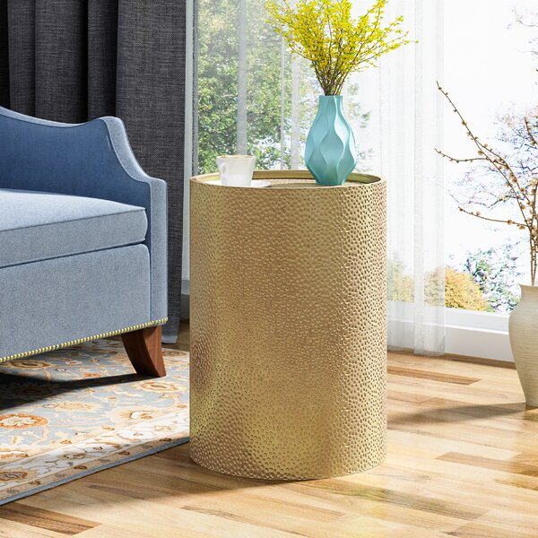Edgerton End Table by World Menagerie